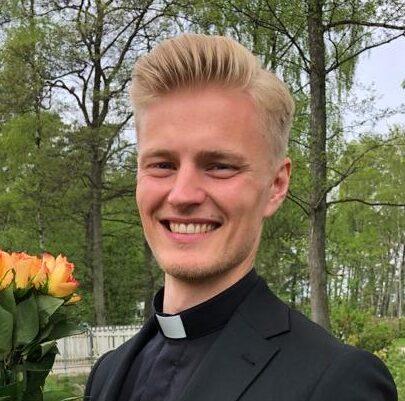 Christoffer ordinerades som pastor