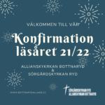 Konfirmationsläsning läsåret 21/22
